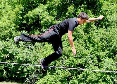 Justin Wagers, Slackline Competitor