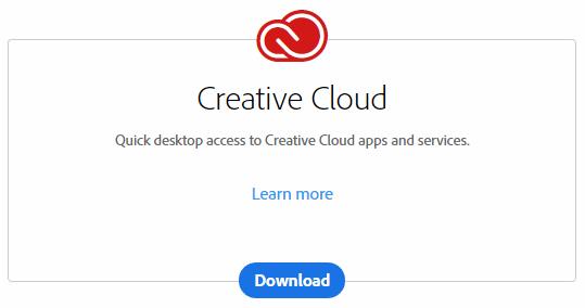 Install Creative Cloud