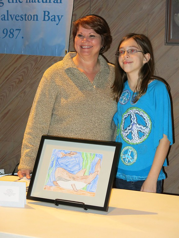 Galveston Bay Art Reception and Rodeo Art Winners 1/25/2013