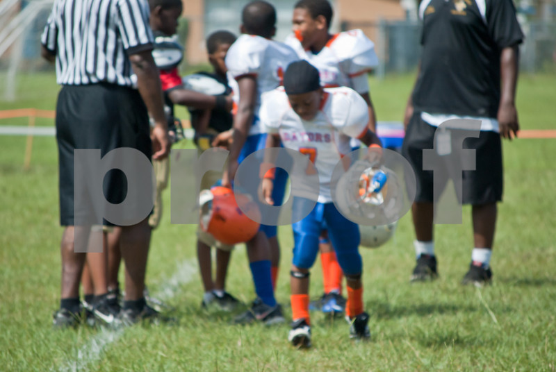 2011 Gators vs Saints Pee Wees