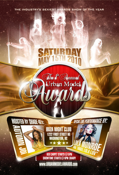 The 1st Annual Urban Model Awards 2011