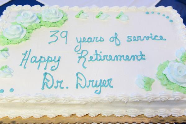 Dr. Dryer Retirement Reception