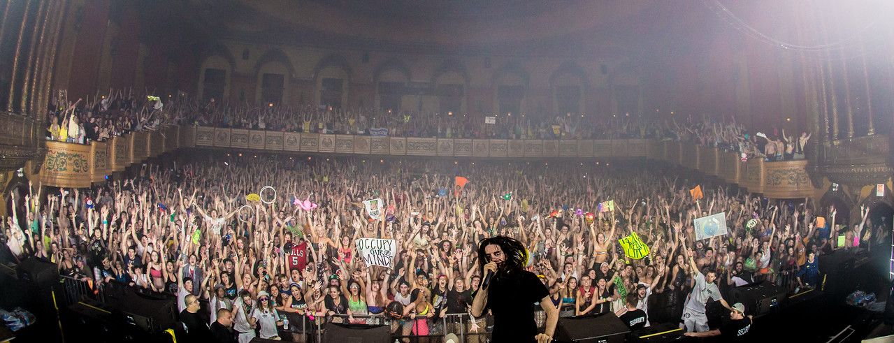 Bassnectar @ The Congress Theater 04142012