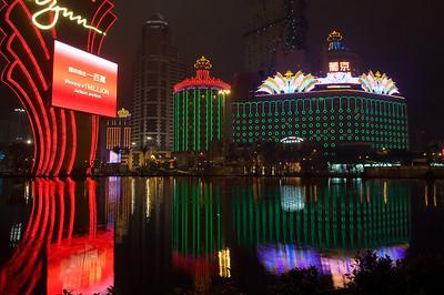 Wynn Casino - The Performance Lake