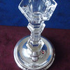 Silver Crystal Glass Candlestick 02