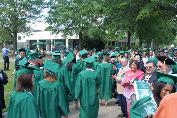 Commencement – Spring 2014
