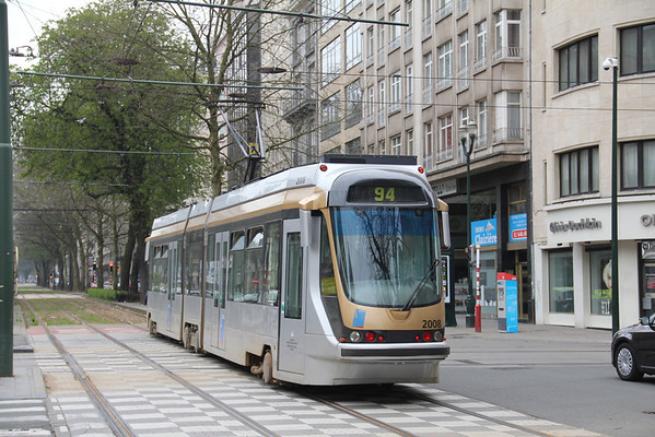 Belgium : Buses, Trams and Trains April 2013.
