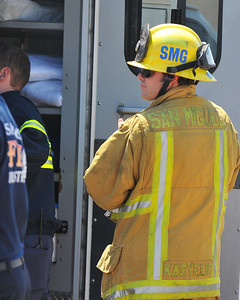 East County News - 08-31-08 11-45 by fire attempt  San Miguel Fire |On Scene San Diego