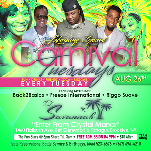 08/26/14 Carnival Tuesday