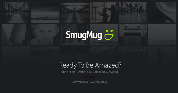 SmugMug's Ustream live broadcast on July 30th, 2013