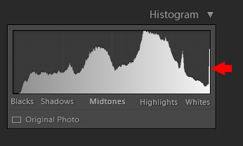 Histogram in Photography - Highlight Clipping