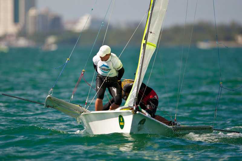 2012 RMOCR - Mens High Performance Dinghy