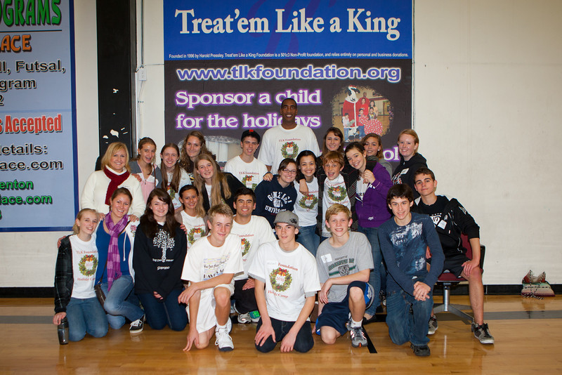 Treat Them Like a King Christmas Party - December 18, 2010