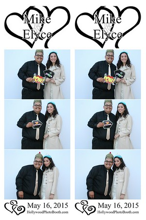 Mike & Elyce - 5-16-15