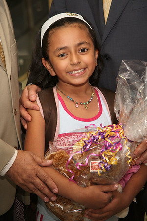 Worldwide Children's Foundation of New York welcomes Rebeca Alejandra Barrera Gonzales  to New York's La Guardia Airport.
