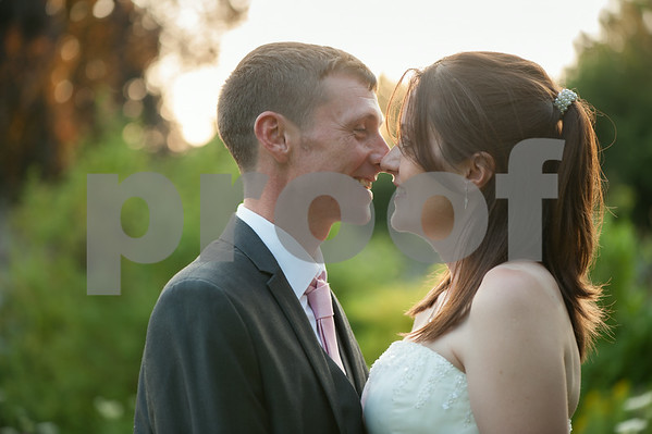 Kirsty and Rob Harper 29 July 2014