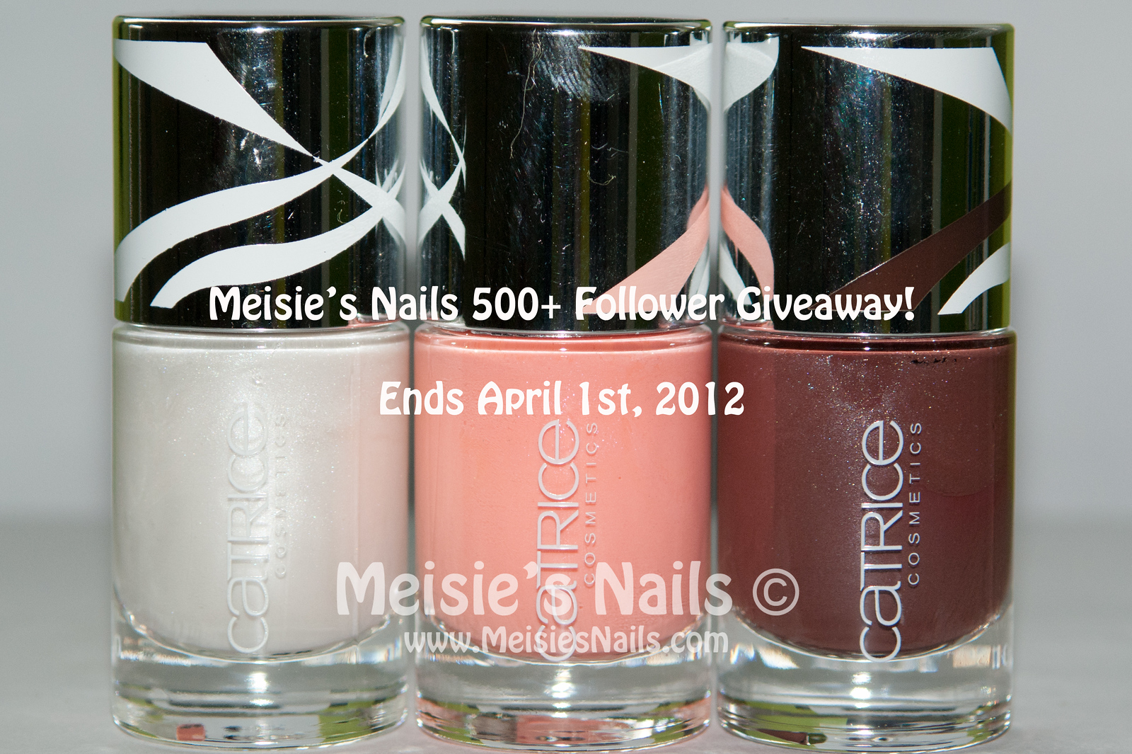 Meisie's Nails 500 Follower Giveaway