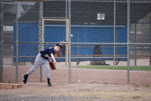 Nick at Bat and on the Mound