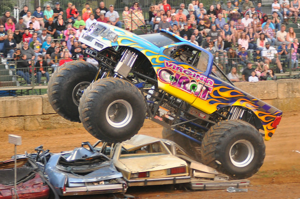 2014 FREDRICK CO FAIR MONSTER TRUCKS & FREESTYLE MOTORCROSS 7-29-14