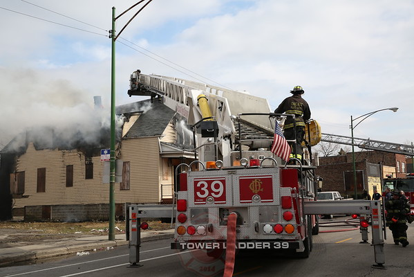 Still & Box Alarm Fire 5500 S. Damen March 29, 2015