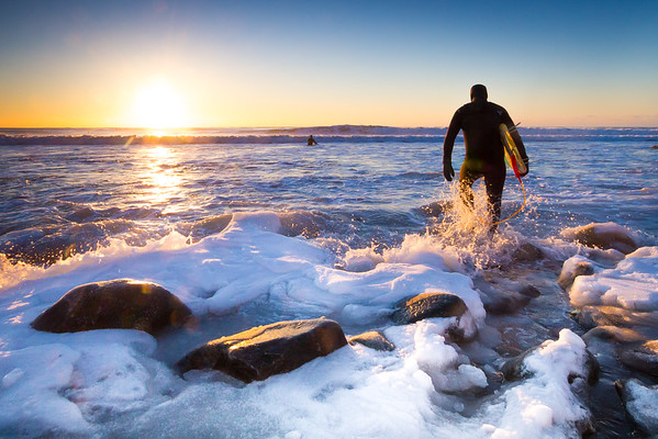 Winter Surf