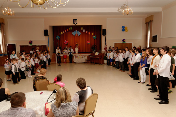 St. Volodymyr Ukrainian Orthodox Cathedral Ukrainian School Graduation 2013