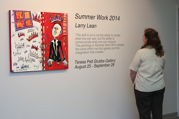 Larry Lean Art Show Reception