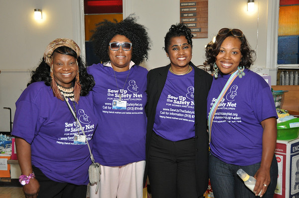 Sew Up the Safety Net: Zion Chapel Church 2012