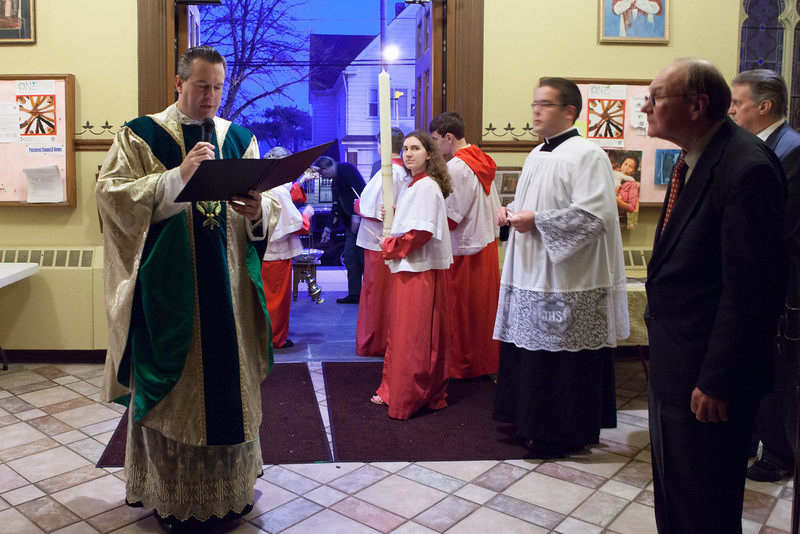 Easter Vigil April 19 2014