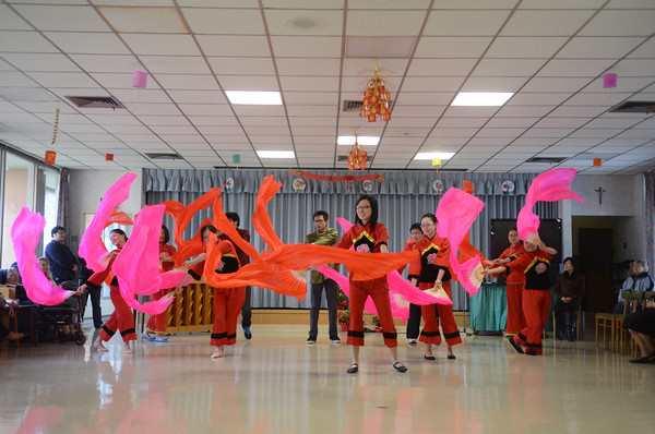 Chinese Ribbon Dance