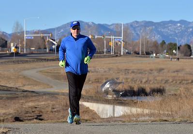 Skip Partridge Marathon Runner