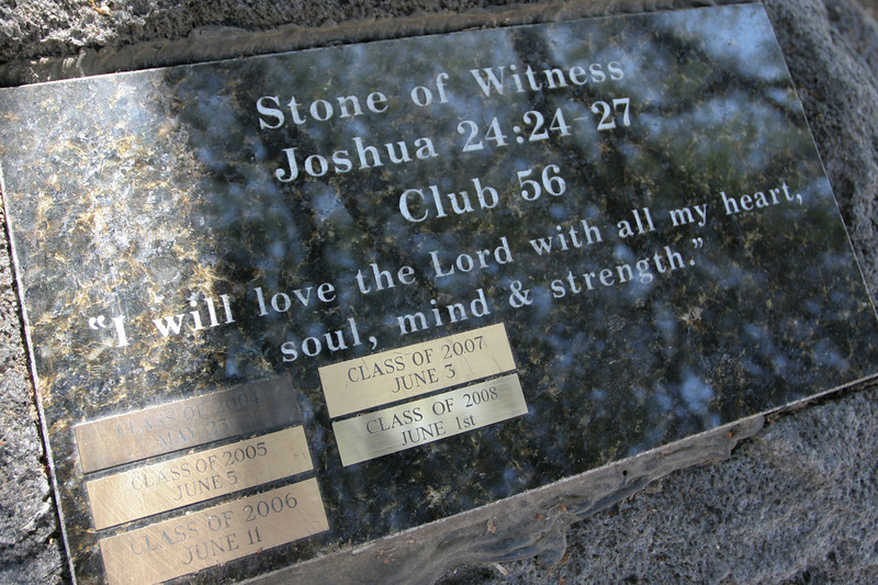 Stone of Witness - June 1, 2008
