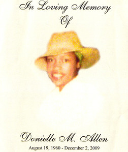 20091218 Donielle M. Allen Home Going Repass