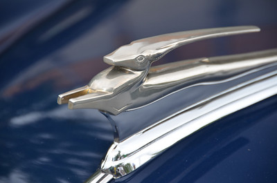 Hood Ornaments from Back to the Fifties Car Show