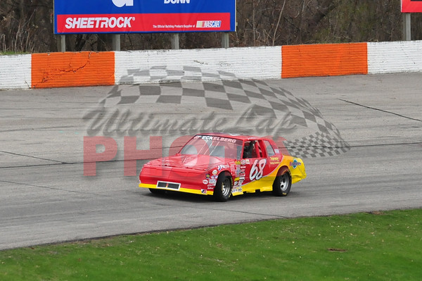 LaCrosse Fairgrounds Speedway Practice, April 23rd, 2011