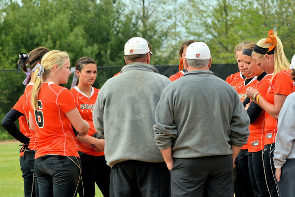 Softball vs Campbellsville 4-17-12
