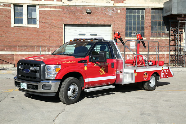 New Apparatus Arrival 6-7-3 New Deluge Wagon For CFD also 6-7-6
