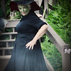 I was an ugly wicked witch...Sandra was a sexy one!