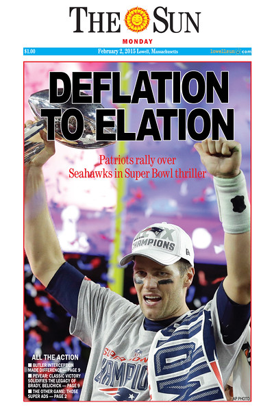 Patriots Front Page