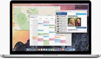 OS X 10.10 desktop, courtesy Apple Inc.
