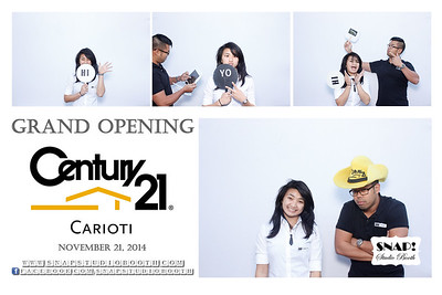 2014-11-21 Grand Opening of Century 21 Carioti