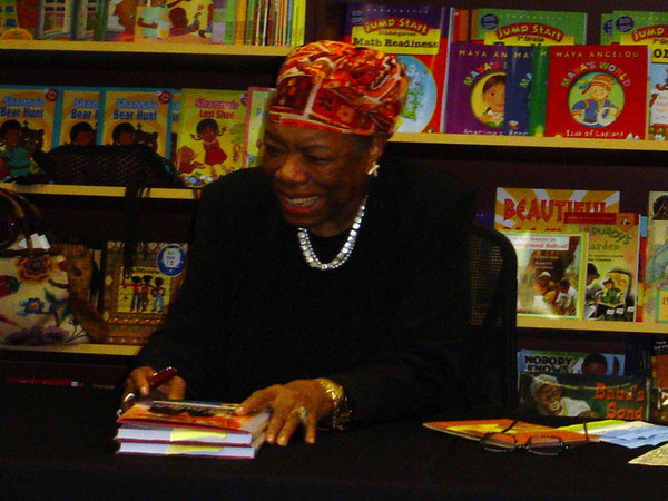 Maya Angelou at Karibu Books - October 2, 2004