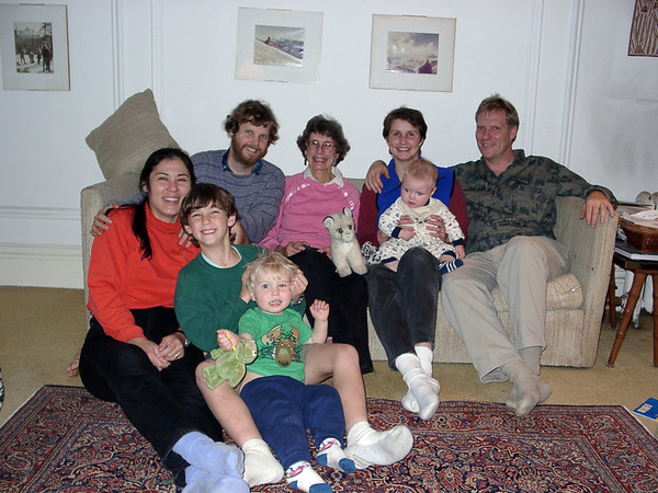 Family Photos Dec 9, 2001