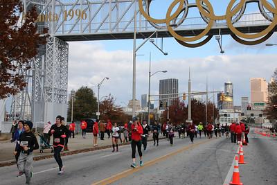 ATC Thanksgiving Half Marathon, 27Nov14
