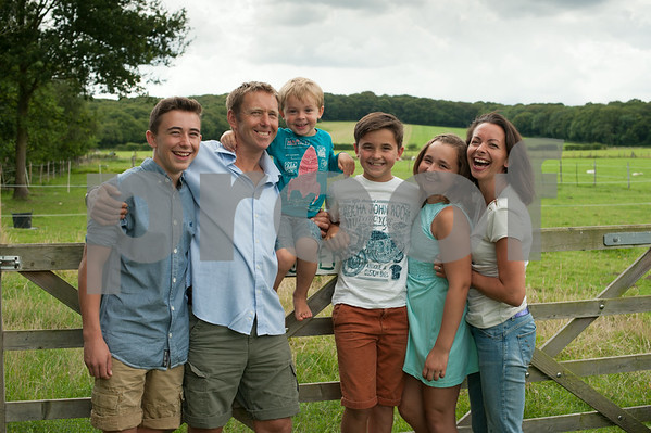 Brook Farm family photoshoot