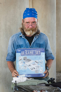 Charles Rose Carpenter Homeless  I was a librarian, I'm 51 years old, I have four college degrees and I've been a carpenter for thirty years.