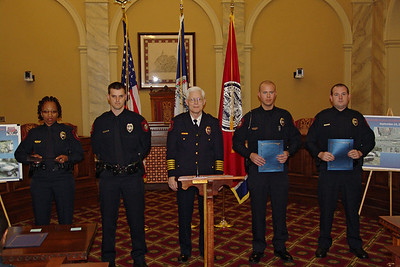 Danville PD Honors Officers for Traffic Safety Efforts