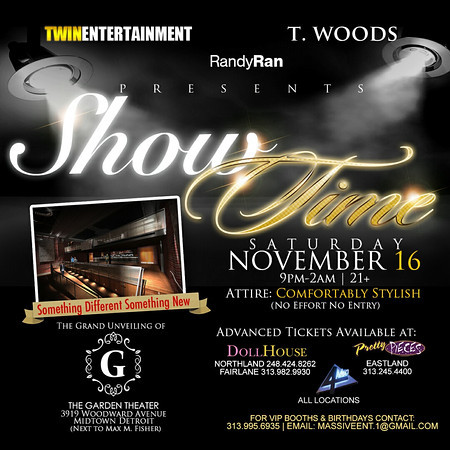 Showtime at Garden Theater (Birthday Celebrations for Twin Ent, & Randy Ran)
