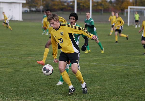 Soccer: TCC vs Alpena, Oct. 18, 2012