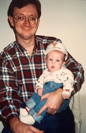 Sam, first Christmas - ) - Dec 1990 - Austin